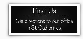 Find Us - Get directions to our office in St. Catharines.